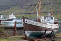 Old and new at Iceland port