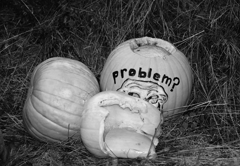 Roadside Pumpkin