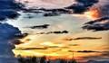 sunset in bogor