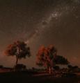 Night sky at Kernot Range