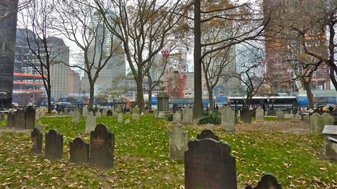 Urban Landscape - churchyard