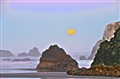 Moonset, Bandon, OR-1
