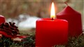 Candles on a Advent Wreath