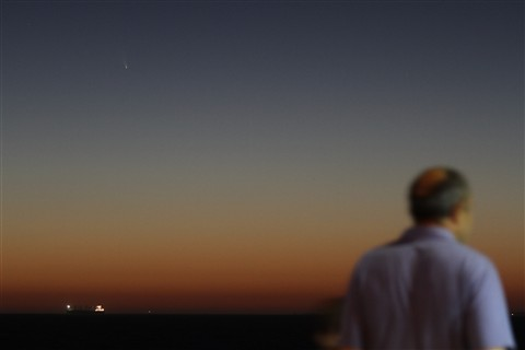 PanSTARRS from Cottesloe 6 March