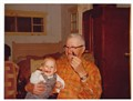 Gramp's & Kubie at Cabin 1977