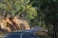 Warburton-Woods Point Road in Victoria, Australia.