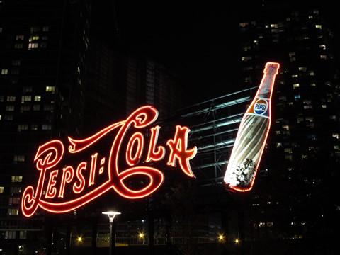 Pepsi Sign, LIC NY