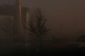 Leaving School in the Morning Fog