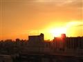 the sun sets on la boca