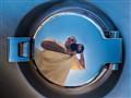 Self portrait on a Shelby Cobra
