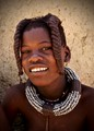 Himba Teenager in Namibia
