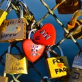 Our hearts are locked for ever at Paris