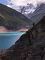 lac de moiry, suisse