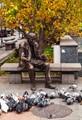 Street statue in Craiova, Romania