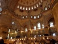 Inside Sultan Ahmed Mosque