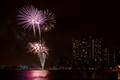 Fireworks over Waikiki Beach