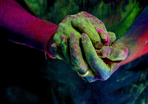 Lets Play Holi..