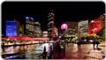 Vivid Festival: Sydney Skyline from Circular Quay