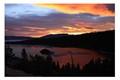 Emerald Bay Lake Tahoe at Blue Hour