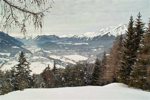 Inn Valley , from Mosern, Austria