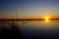 Sunset on the Okavango Delta - Botswana