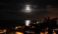 DSC_3255 Balcony view of Moon setting over Waikiki sm