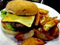 Sweet Chilli Cheese Burger with Chips