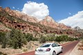 Zion National Park Utah USA. One of the great landmarks of the western USA