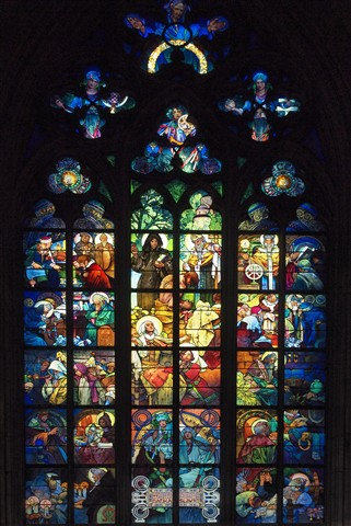 St. Vitus Cathedral window lowres.Z8085882