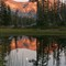 Moonrise at Sunset - Wallowas 2012-5300