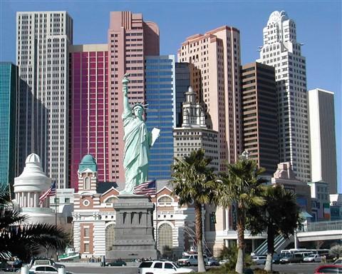 NY NY Las Vegas Cityscape