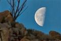 Moonrise over Ridgeline