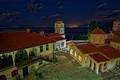 Sveti Naum at night