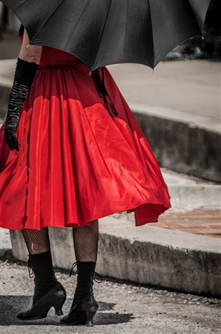 Woman in Red 3