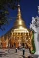 Swedagon Pagoda Yangon Myanmar