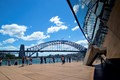 A view of Harbour Bridge from the Opera House.