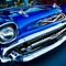 blue 57 chevy