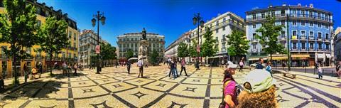 Largo de Camoes, Lisboa, Portugal