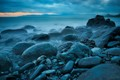 Early Morning Hues of Blue