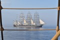 Four masted barque Kruzenshtern, built in Germany 1926