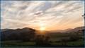 Sunset over Mt Victoria - Pyengana