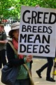 greed breeds