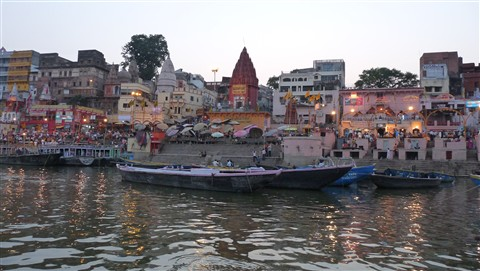 Bank of River Ganga,Varanasi,India