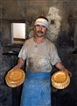 Baking bread in Fergana