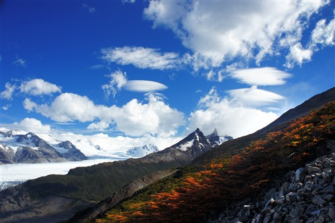 Glacier Gray near John Gardener Pass