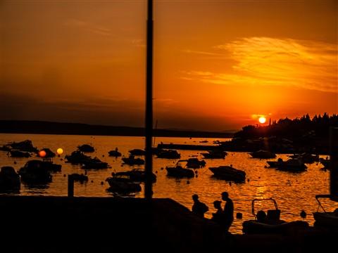 Sunset @ Croatian Coast