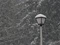 Snowy Street Light