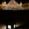 l Louvre Night