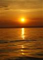 sunset over Stonington