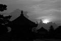Pagoda, Nara b&w
